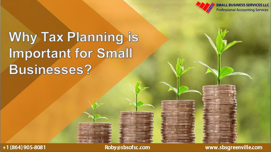 Why Tax Planning is Important for Small Businesses?